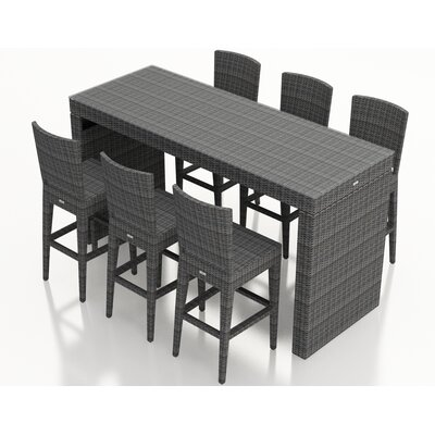 Gerron 7 Piece Bar Set