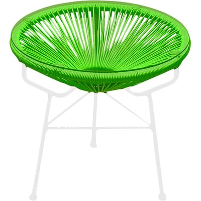 Ehrlich Side Table Finish: Ottoman Lime Green / White Frame