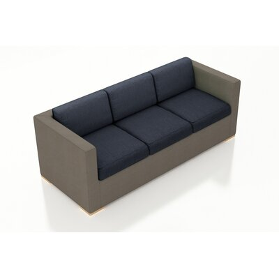 Element Sofa with Cushions Fabric: Spectrum Indigo