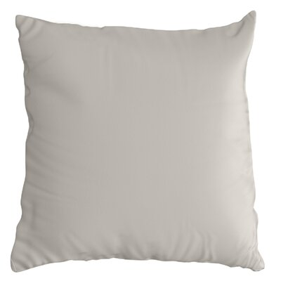 Throw Pillow Color: Cast Silver