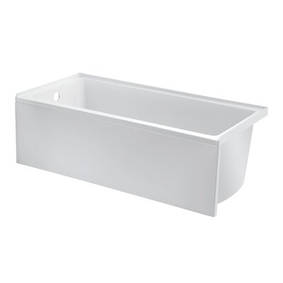 Equinox 60 x 30 Drop in Soaking Bathtub Drain Location: Left