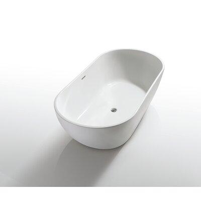 Onsen 71 x 31.5 Freestanding Bathtub