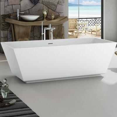 Onsen Acrylic 71 x 31.5 Freestanding Bathtub