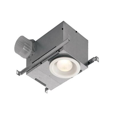 70 CFM Energy Star Bathroom Fan with Light