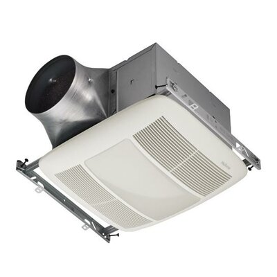Ultra Green Series 110 CFM Multi-Speed Ventilation Fan with Lighting and Grille