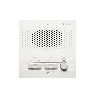 Indoor Remote Station for Intercom Finish: White