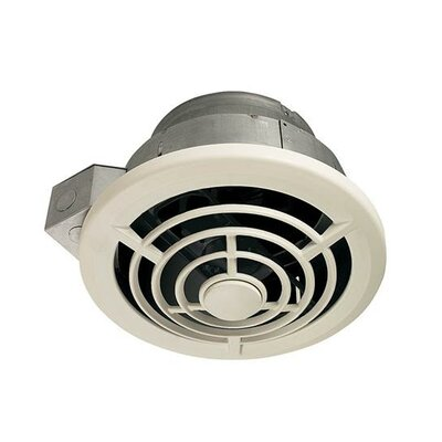 210 CFM Ceiling Mount Bathroom Fan with Vertical Discharge