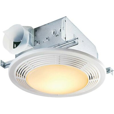 100 CFM Bathroom Fan with Night Light