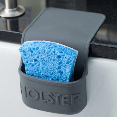 Lil Holster Mini Dish Sponge Holder Color: Gray