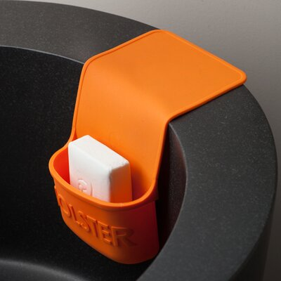Lil Holster Mini Dish Sponge Holder Color: Orange