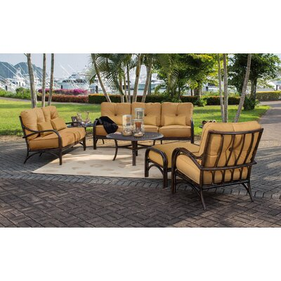 Sundance 6 Piece Deep Seating Group with Cushions