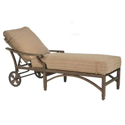 Grand Regent Chaise Lounge with Cushion
