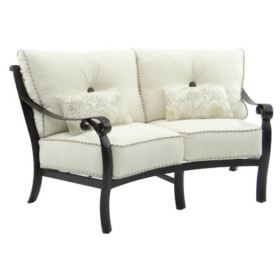 Bellanova Crescent Loveseat with Cushion