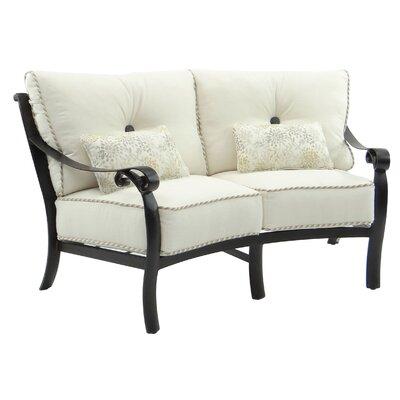 Bellanova Crescent Loveseat Cushion - Product photo