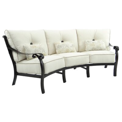Bellanova Crescent Sofa with Cushion