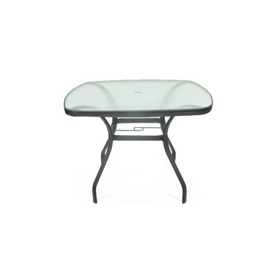 Edge Glass Dining Table