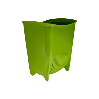 Push N Stay Suction Sink Organizer Color: Green