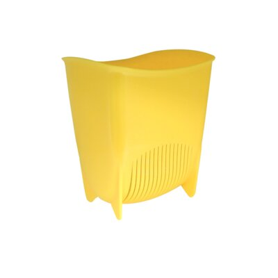 Push N Stay Suction Sink Organizer Color: Yellow