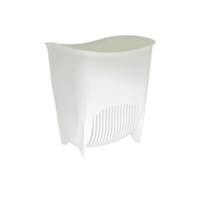 Push N Stay Suction Sink Organizer Color: White