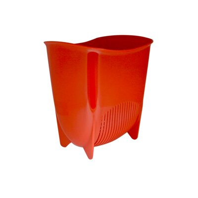Push N Stay Suction Sink Organizer Color: Red