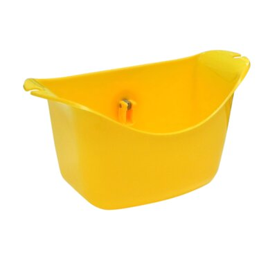 Push N Stay Oval Suction Sink Organizer Color: Yellow