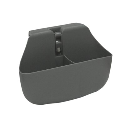 Push N Stay Divided Suction Sink Organizer Color: Grey