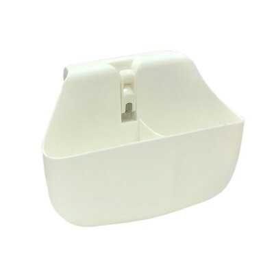 Push N Stay Divided Suction Sink Organizer Color: White
