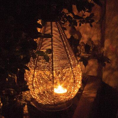 Laterne für eine Kerze | Dekoration > Kerzen und Kerzenständer > Laternen | Nickel | Kent Collection