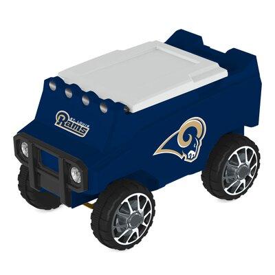 30 Qt. NFL Rover Cooler NFL Team: St. Louis Rams