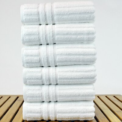 Cypress Hand Towel Set Color: White