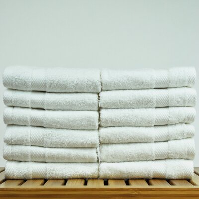 Luxury Hotel and Spa Turkish Cotton Honeycomb Wash Cloth