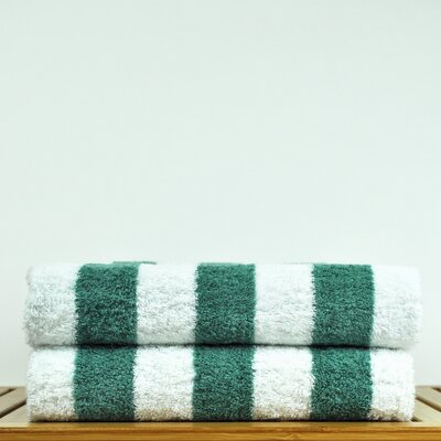 Luxury Hotel and Spa Towel 100% Genuine Turkish Cotton Pool Beach Towel Color: Sea Green