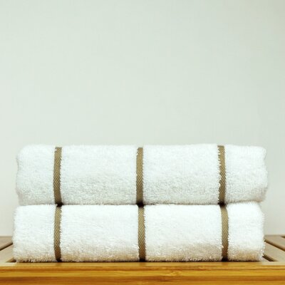 Luxury Hotel and Spa Towel 100% Genuine Turkish Cotton Pool Beach Towel Color: Brown