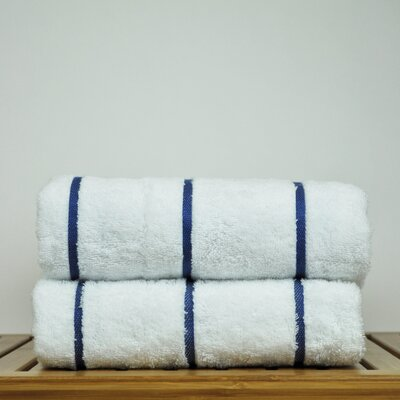 Luxury Hotel and Spa Towel 100% Genuine Turkish Cotton Pool Beach Towel Color: Royal Blue