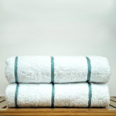 Luxury Hotel and Spa Towel 100% Genuine Turkish Cotton Pool Beach Towel Color: Sea Green
