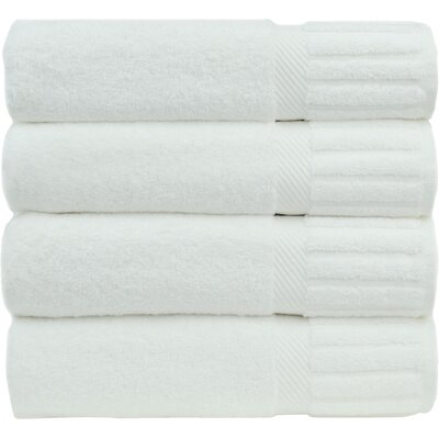 Fiorella Bath Towel Set Color: White
