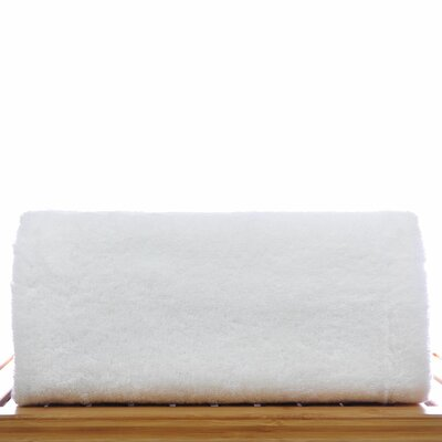 Cotton Bath Sheet Color: White