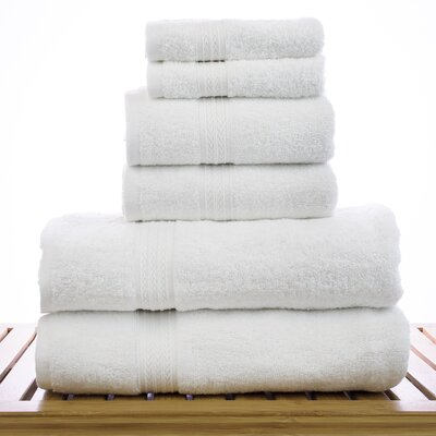 Eco Cotton 6 Piece Towel Set