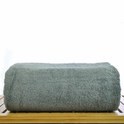 Cotton Bath Sheet Color: Gray
