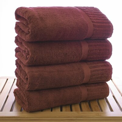 Bath Towel Color: Cranberry
