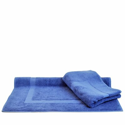 Bath Mat Color: Wedgewood