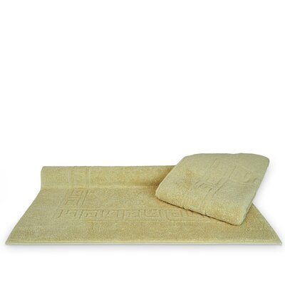 Greek Key Bath Rugs