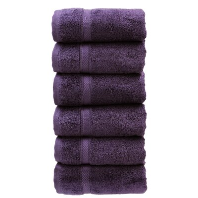 Luxury Hotel and Spa Hand Towel Color: Plum