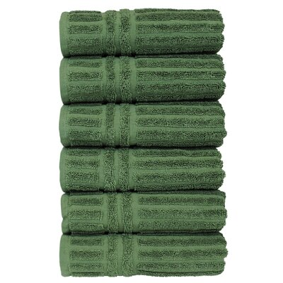 Cypress Hand Towel Set Color: Moss