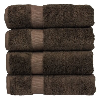 Luxury Hotel and Spa Bath Towel Color: Cocoa