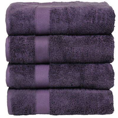 Luxury Hotel and Spa Bath Towel Color: Plum
