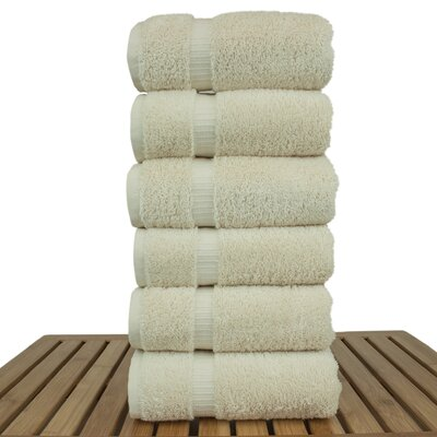Orchid Hand Towel Set Color: Cream