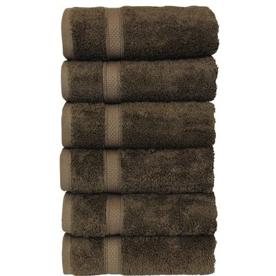 Luxury Hotel and Spa Hand Towel Color: Cocoa