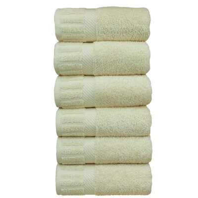 Fiorella Hand Towel Color: Beige