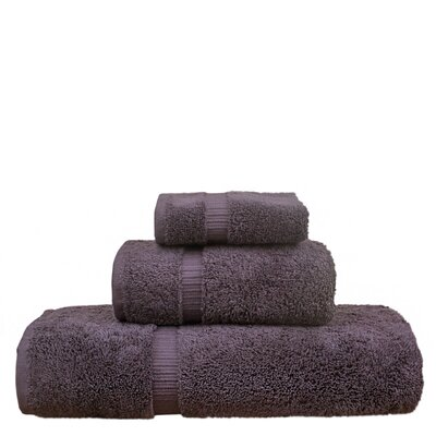 Orchid 3 Piece Towel Set Color: Plum